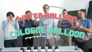 Water Balloon vs. Cologne Balloon (Game Show)