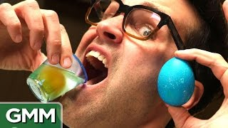 Raw Egg Eating Challenge #2
