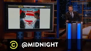 "The Midnight Spoil: ""Batman v Superman"" -  @midnight with Chris Hardwick"