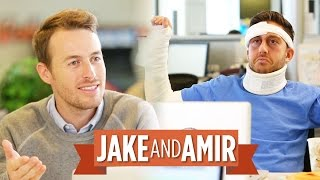 Jake and Amir: Full Body Cast