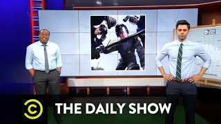 The Daily Show - Third Month Mania Team Spotlight - Police Brutality - Uncensored