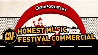 Honest Music Festival Commercial