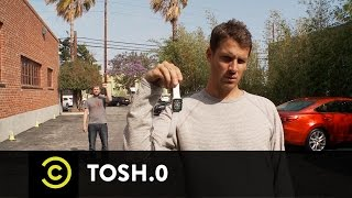 Tosh.0 - Tosh Is Better Than You - No Look Throws