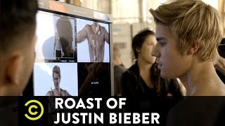 Roast of Justin Bieber - Behind the Scenes - Jeff Ross at the Promo Shoot - Uncensored