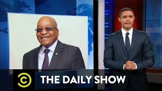 The Daily Show - South African President Jacob Zuma & The Panama Papers