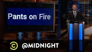 Affion Crockett, Jamar Neighbors, Tiffany Haddish - Pants on Fire - @midnight with Chris Hardwick