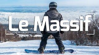 Snowboarding Le Massif Charlevoix: Quebec Travel Vlog 6/6