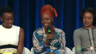 "The Broadway cast & creators of ""Eclipsed""  