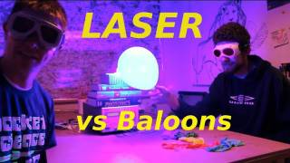 Laser Month! Week 2 - Laser vs Balloons - Smarter Every Day 35