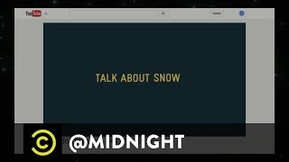 Arden Myrin, Lamorne Morris, Carrot Top - Whispering Swede Nothings - @midnight with Chris Hardwick