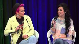 "Kandee Johnson & Ciaoobelllaxo: ""YouTube Beauty Panel Discussion"" 