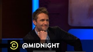 #HashtagWars - #LameComicBookCharacters - @midnight with Chris Hardwick
