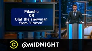 Steve Agee, Ron Funches, T.J. Miller - High Mall - @midnight with Chris Hardwick