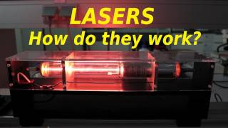 How Lasers Work (in practice) - Smarter Every Day 33