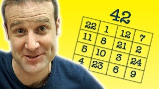 Magic Square Party Trick - Numberphile