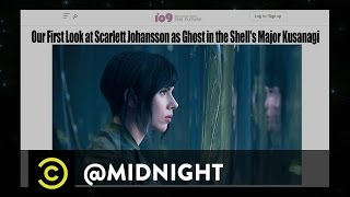 Anna Akana, Flula Borg, Ben Gleib - Ghost in the Hell No - @midnight with Chris Hardwick
