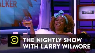 The Nightly Show - Lady Time with Holly Walker - Marijuana for Menstrual Pain