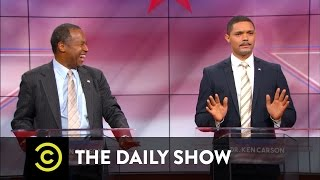 The Daily Show - Dr. Ben Carson vs. Dr. Ken Carson: The Doctors Debate