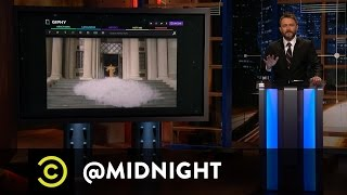Becky with the Good Hair - Angry Beyonce Fans Attack Rachael Ray - @midnight with Chris Hardwick
