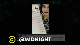 Pumped Up Millennial Voters - @midnight with Chris Hardwick