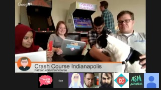 2016 Crash Course Patreon Livestream NOW!