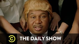 "The Daily Show - ""They Love Me"" Music Video - Black Trump (ft. Jordan Klepper)"