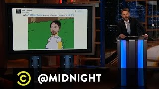 Burn the Witch - Radiohead Vanishes from the Internet - @midnight with Chris Hardwick