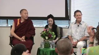 "Khenpo Tsultrim Lodro & David Presti: ""The Scientist & the Monk"" 