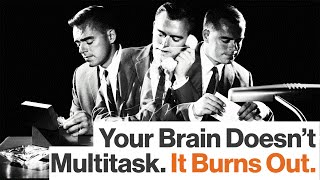 Multitasking Is a Myth, and to Attempt It Comes at a Neurobiological Cost