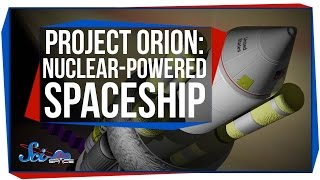 Project Orion: The Spaceship Propelled By Nuclear Bombs