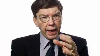 Clayton Christensen on The Innovator's Prescription
