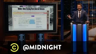 Chris Takes on Porn-Loving Politicians - @midnight with Chris Hardwick