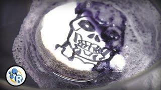 Acetone Dissolves Styrofoam Into Goo