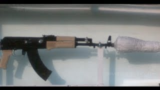 Slow Motion of an AK-47 Underwater (Part 1) - Smarter Every Day 95