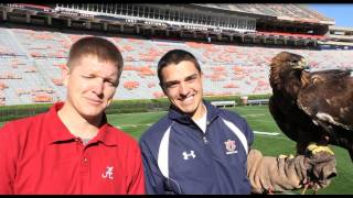 Alabama fan visits Auburn Eagle Practice - Smarter Every Day 32