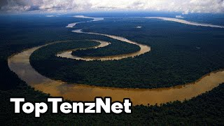 Top 10 Most POWERFUL RIVERS in the World