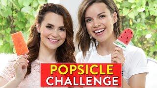 POPSICLE CHALLENGE! w/ Ingrid Nilsen