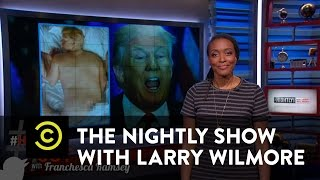 "The Nightly Show - #HashItOut with Franchesca Ramsey - Kanye West's ""Famous"" Video"