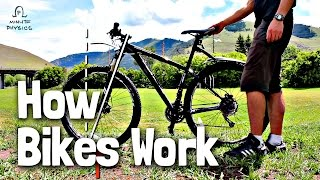 How Do Bikes Stay Up?