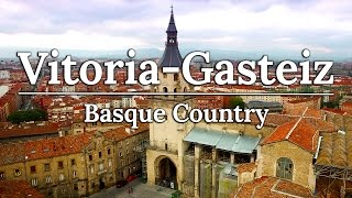 Vitoria Gasteiz & Valle Salado | Basque Country Spain Travel Vlog #4
