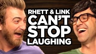 Rhett & Link Can't Stop Laughing