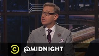 "An Alternative to GhostBussing - Lyft's ""Ghostbusters"" Ride  - @midnight with Chris Hardwick"