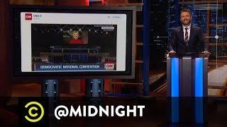 Kevin Smith, Kathryn Hahn, Matt Mira - Breaking the Glass - @midnight with Chris Hardwick