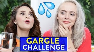 SINGING GARGLE CHALLENGE ft Madilyn Bailey