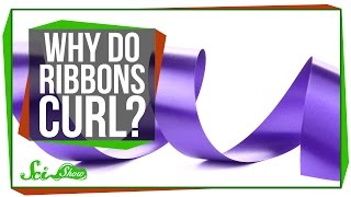 Why Do Ribbons Curl?