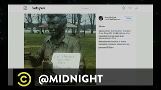 """Scary Lucy"" Gets a Replacement  - @midnight with Chris Hardwick"