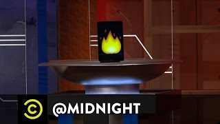 A Non-Trademark-Infringing International Competition for Medals - @midnight with Chris Hardwick