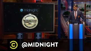 The Non-Trademark-Infringing International Competition Finals - @midnight with Chris Hardwick