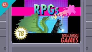 Role-playing Games: Crash Course Games #18