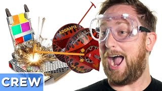 Test Driving BattleBots - Good Mythical Crew Ep. 25